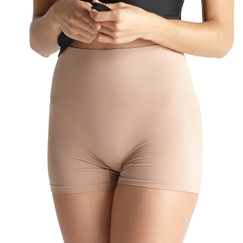 Yummie Tummie Ultralight Seamless Shaping Short Almond