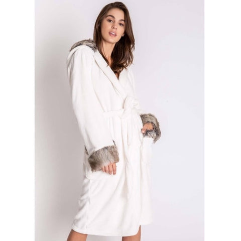 P.J. Salvage Aspen Robe White