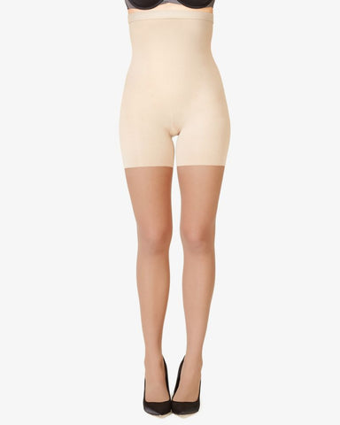 Spanx High-Waisted Shaping Sheers Nude S4