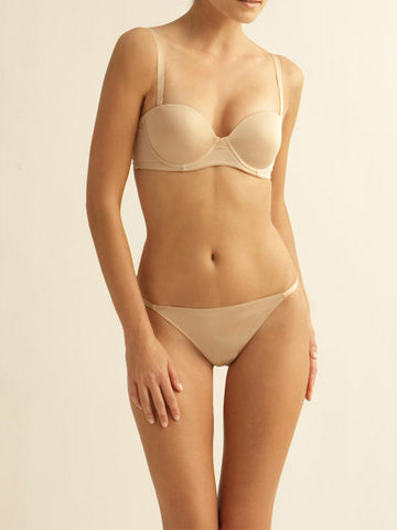 The Little Bra Company Sascha Smooth Strapless Bra Nude