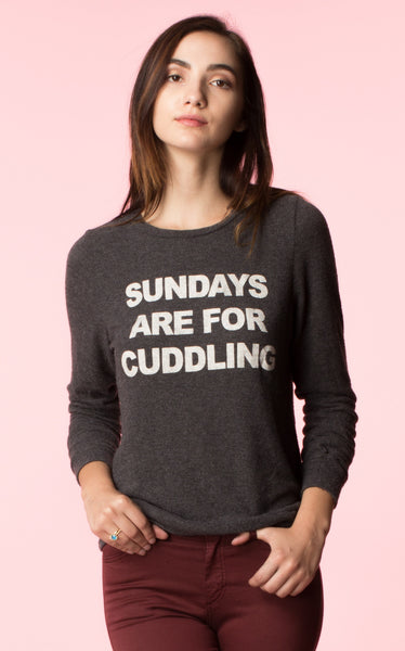 Sundays are for Cuddling