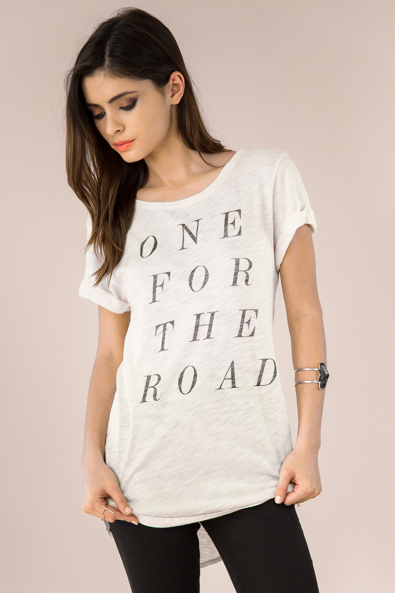 One for the Road Tee