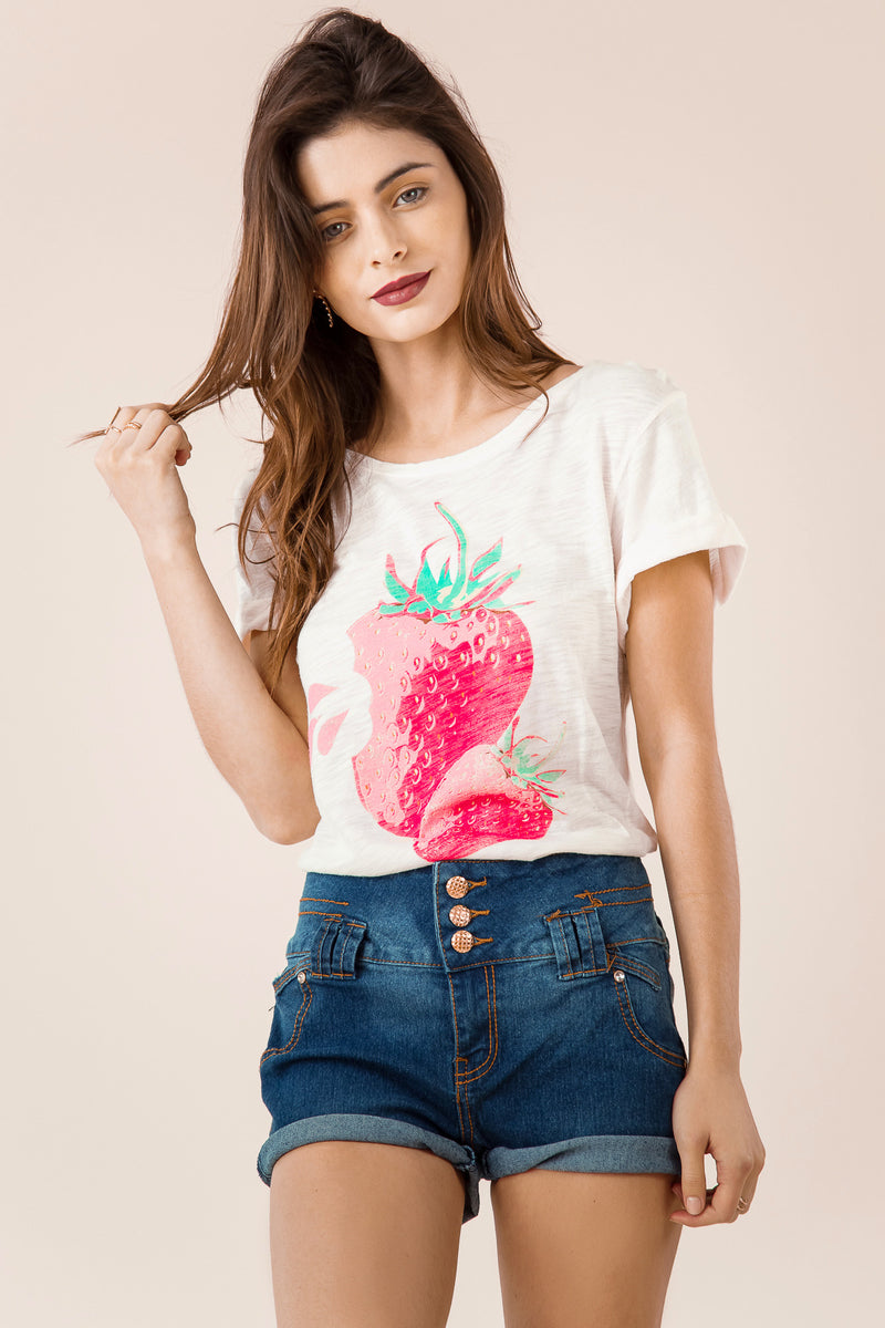 Strawberry SS Tee