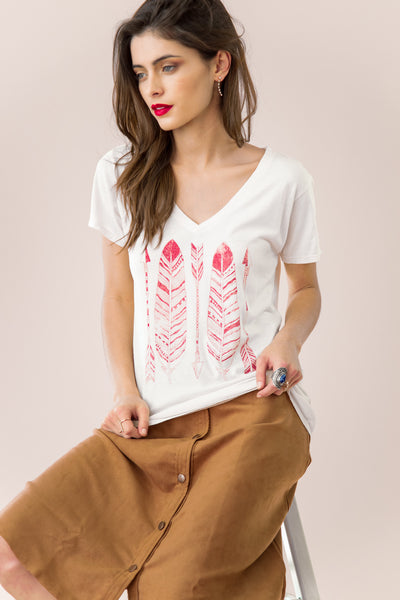 Feathers and Arrows Tee