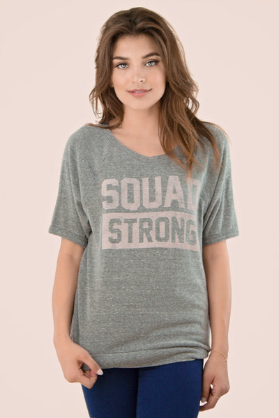 Squad Strong tee