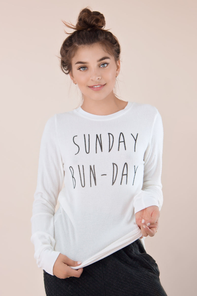 Sunday Bun-Day pull over