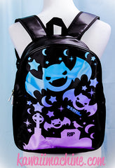 Graveyard Shift Printed Bats Mini or Full Size Backpack