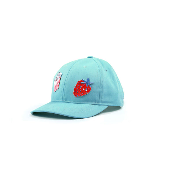 Kukukid Baseball Cap Light Azure Popcorn