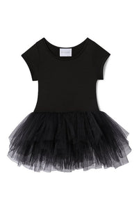 Plum NYC Bestie Tutu Dress Stella Black