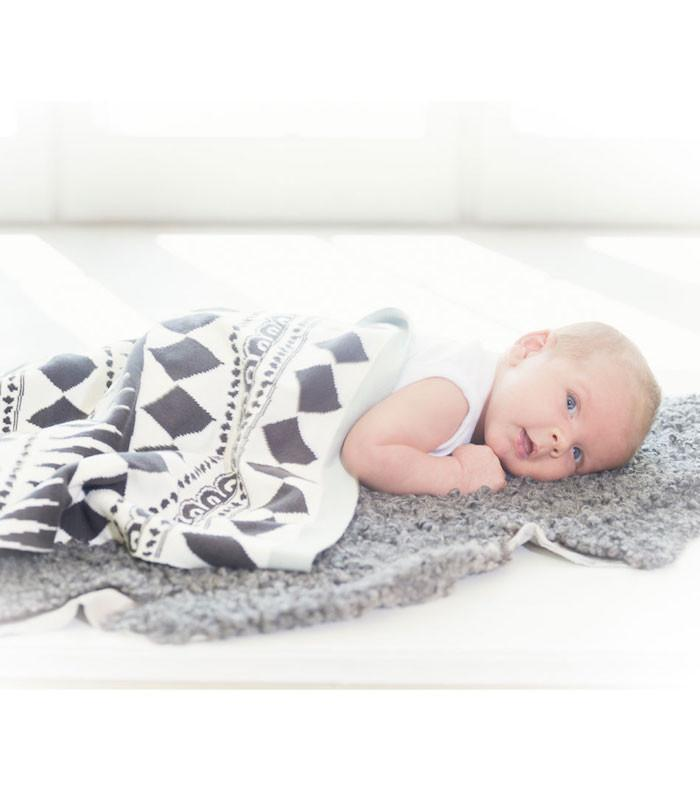 Elodie Details Cotton Knitted Blanket - Graphic Devotion