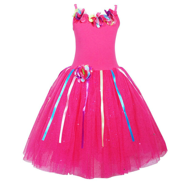 Pink Poppy: Rainbow Fairy Dress Pink
