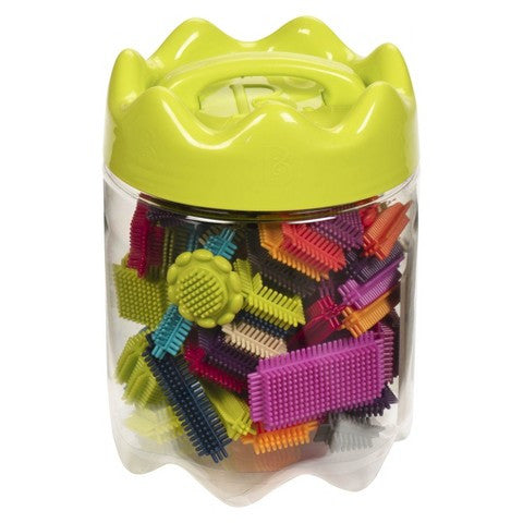 BToys Bristle Block Stackadoos in Jar