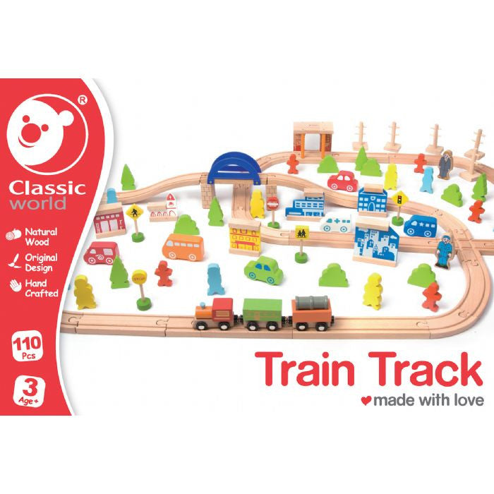 Classic World 110pce Train Set