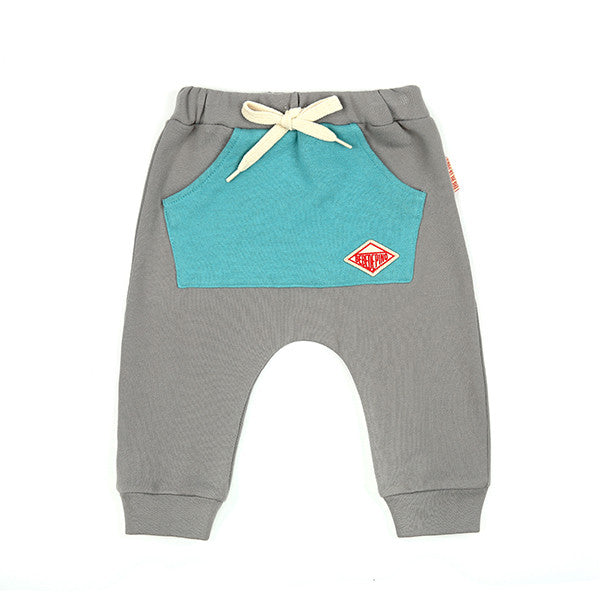 Bebedepino Baby color block pocket pants