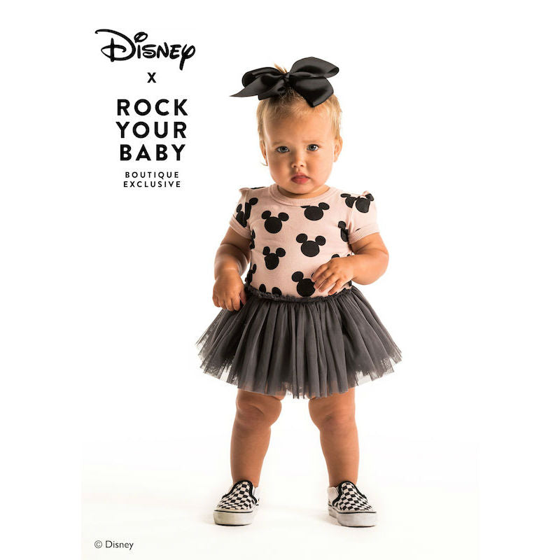 Rock Your Baby Mickey Silhousette SS Circus Dress