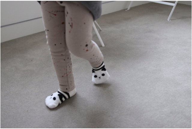 Mini Dressing Panda Socks Set (Set of 3)