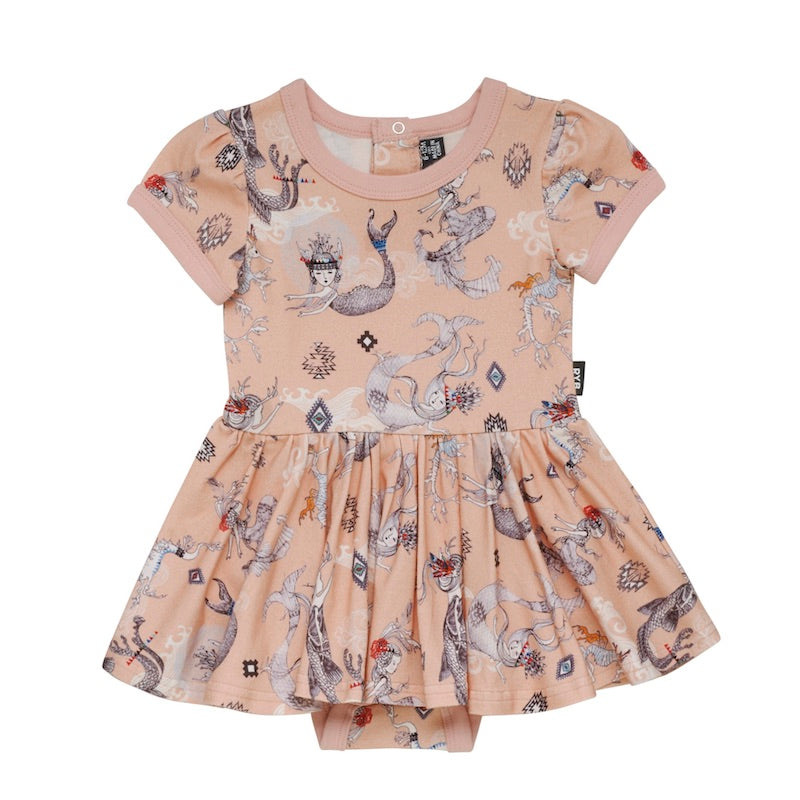 Rock Your Baby Boho Maids & Dragons Ss Sadie Waisted Dress