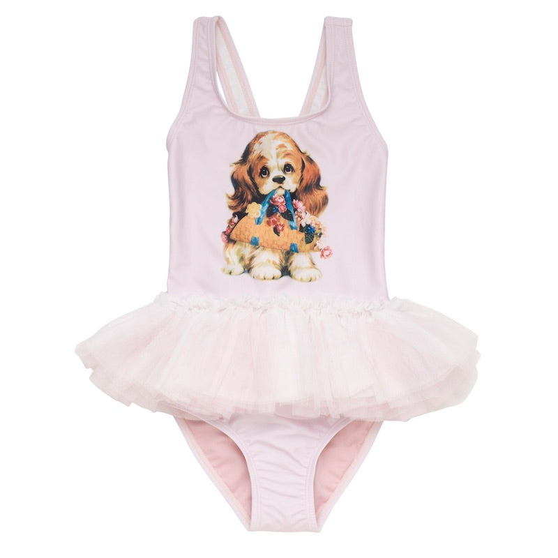Rock Your Kid Go Fetch Tulle One Piece