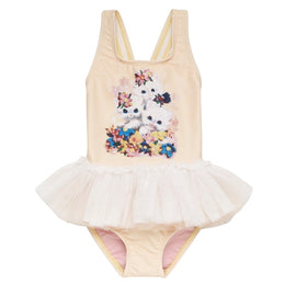 Rock Your Baby Little Kittens Tulle One Piece