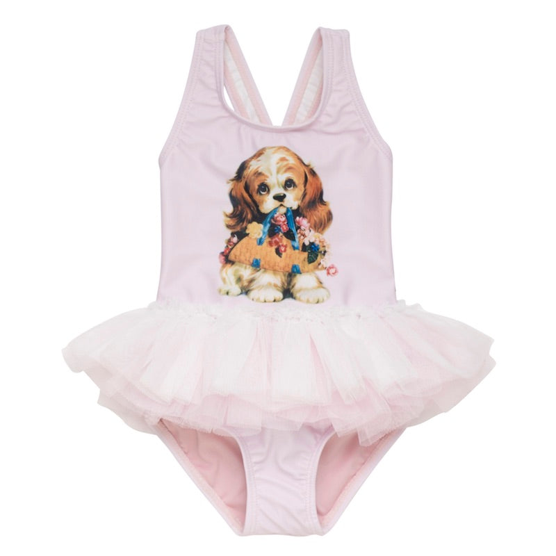 Rock Your Baby Go Fetch Tulle One Piece