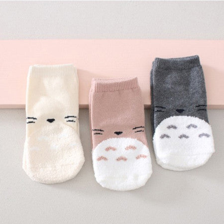 Mini Dressing Totoro Socks Set (set of 3)