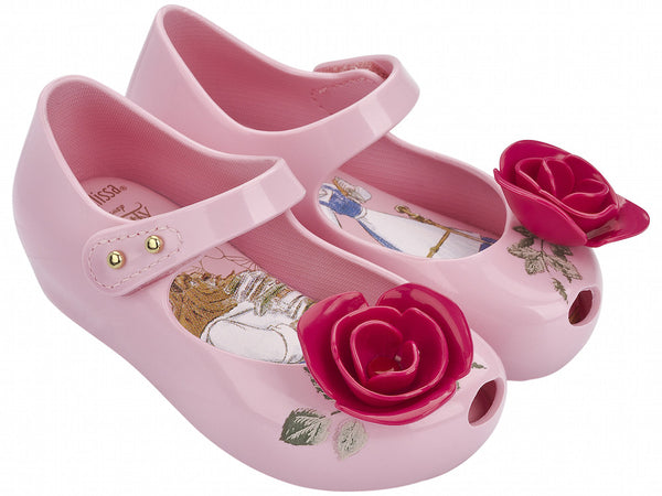 Mini Melissa Ultragirl Beauty & The Beast Pink