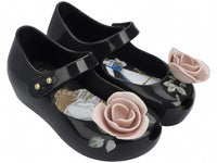 Mini Melissa Ultragirl Beauty & The Beast Black