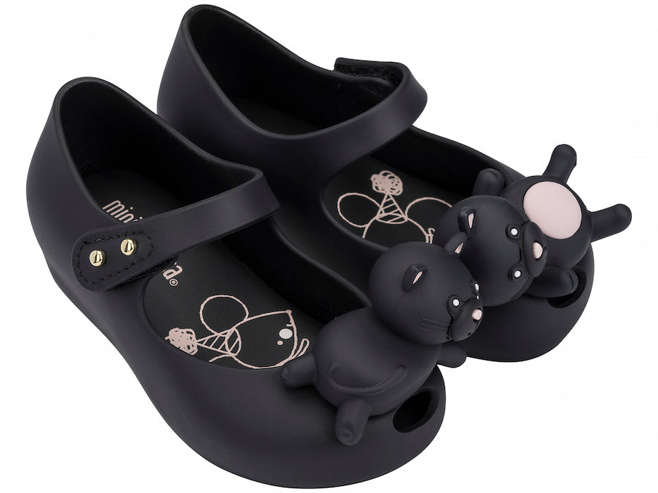 Mini Melissa Ultragirl Mini Cat Black