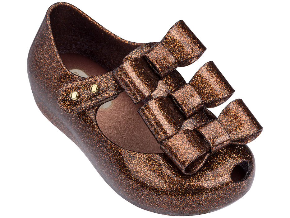 Mini Melissa Ultragirl Triple Bow Brnoze