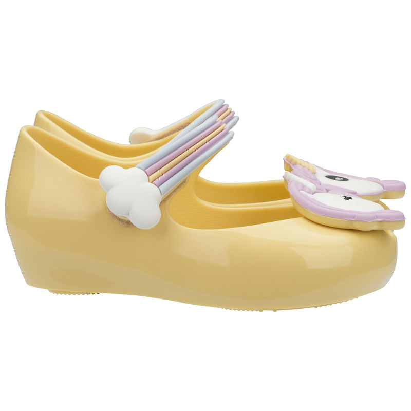 Mini Melissa Ultragirl Unicorn BB Pale Yellow Gloss
