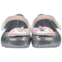 Mini Melissa Ultragirl Unicorn BB Silver Glitter