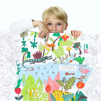 Mideer Giant Colouring Roll-Jungle