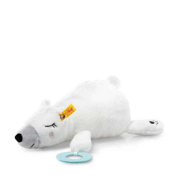 Steiff Soft Cuddly Friends Iggy polar bear with grip toy