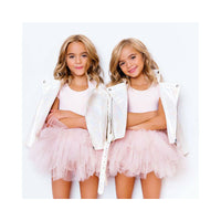 Plum NYC Bestie Tutu Dress Shirely Pink