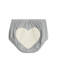 Sapling Grey Heart Bloomers