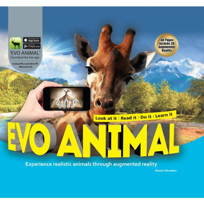 Evo Animal 3D Book