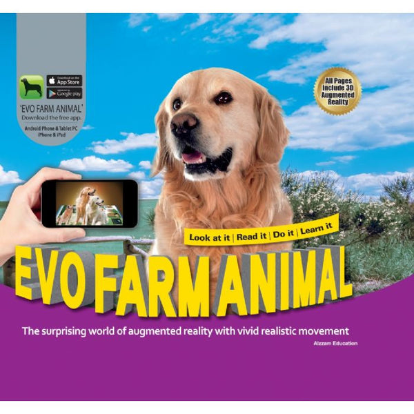Evo Farm Animal 3D Book