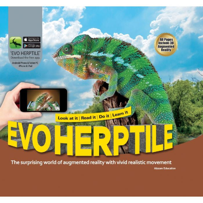 Evo Herptile 3D Book