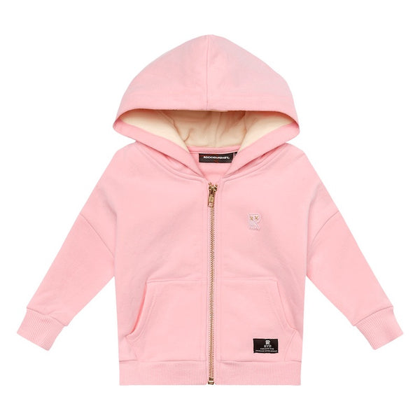 Rock Your Baby Pink Fairy Wing Hoodie