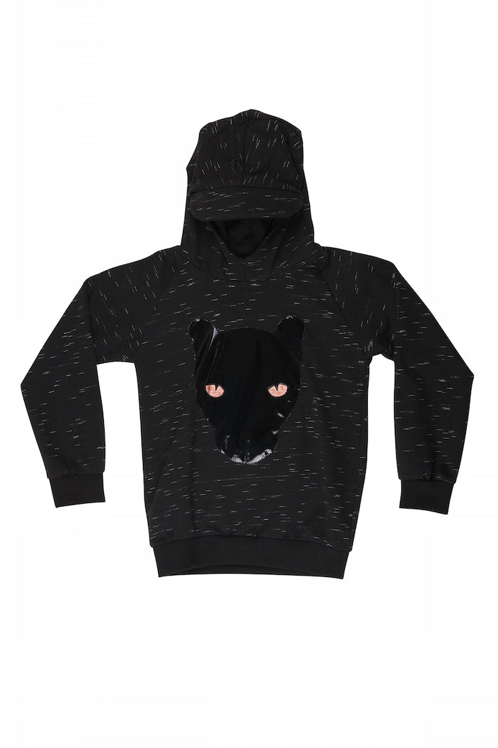 WAUW CAPOW By Bangbang Black Sweatshirt fleece