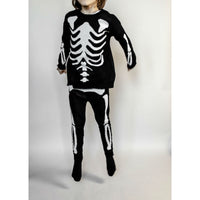 Beau Loves Knit Tracked Suit Pants Jacquard Skeleton