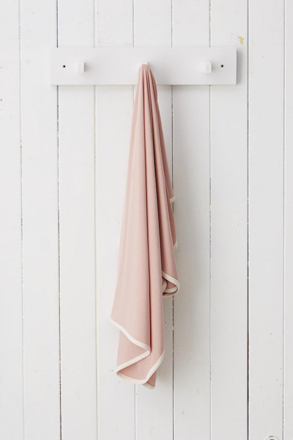 Boody Stretch Jersey Wrap Rose
