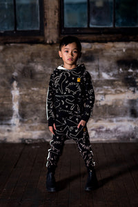 Rock Your Kid Minimalist Dino Track Pants