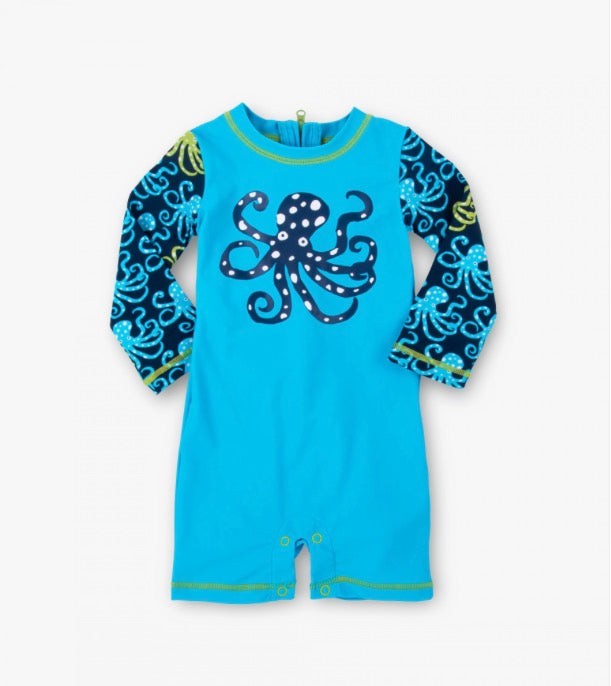 Hatley Deep Sea Octopus Baby Rash Guard