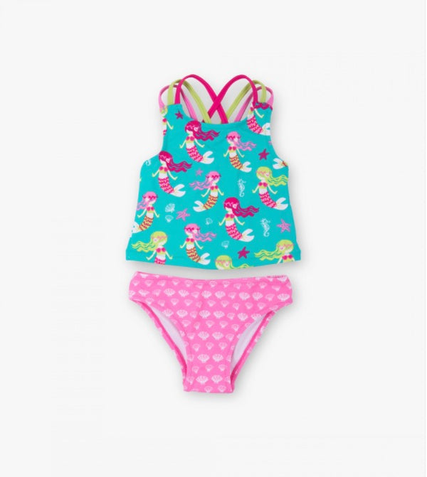 Hatley Sweet Mermaid Sporty Tankini Set
