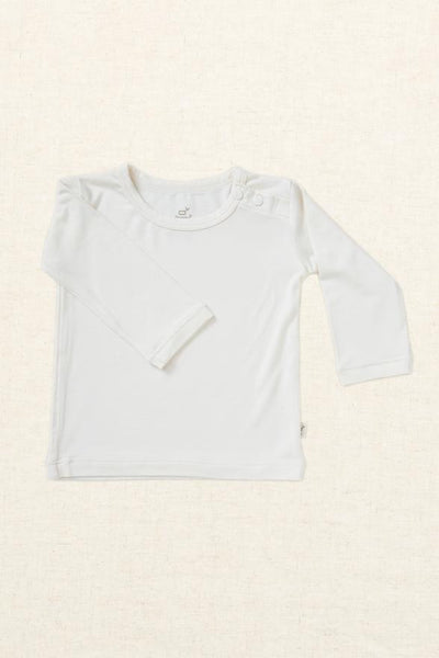 Boody Long Sleeve Top Chalk