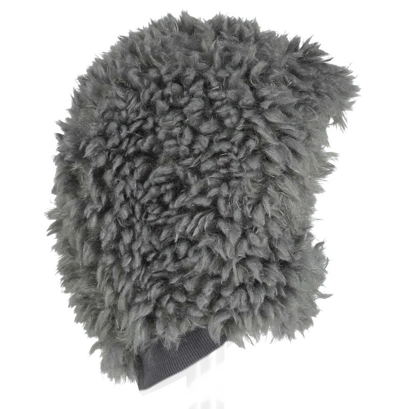 Beau Loves Baby Fur Hat Quiet Grey