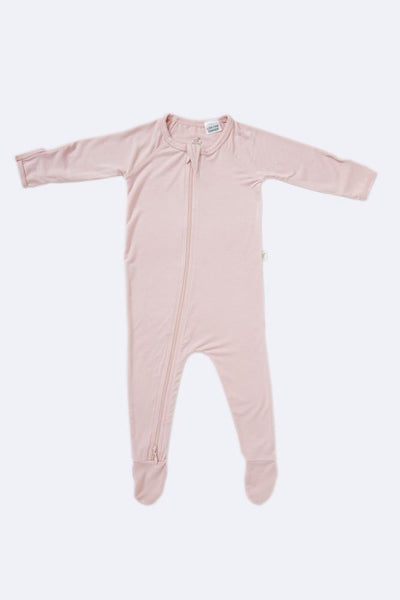 Boody Long Sleeve Onesie Rose