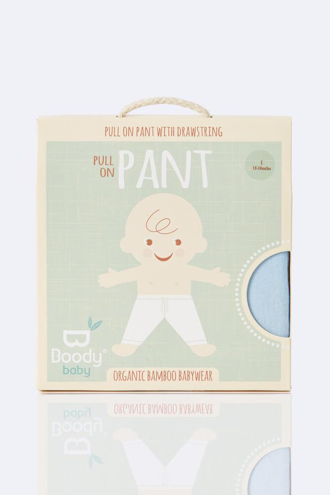 Boody Pull on Pants Chalk