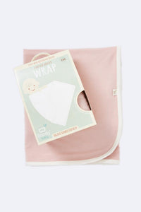 Boody Stretch Jersey Wrap Chalk